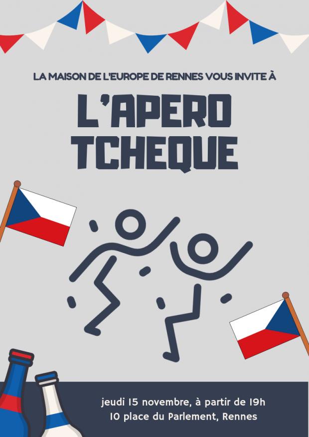Affiche Apero Tcheque MDE 15.11.18
