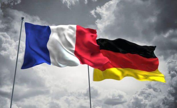 Drapeau France Allemagne