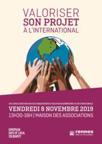 Valoriser son projet à l'international @ Maison des Associations