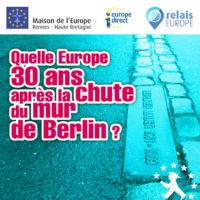 Quelle Europe 30 ans après la chute du mur de Berlin ? @ Médiathèque de Saint-Méen-Le-Grand