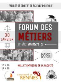 """Forum """"F2M"""" @ Faculté de Droit et de Science Politique (Hall et entresol)"""
