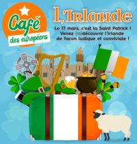 Café des européens - IRLANDE @ Centre social de Cleunay