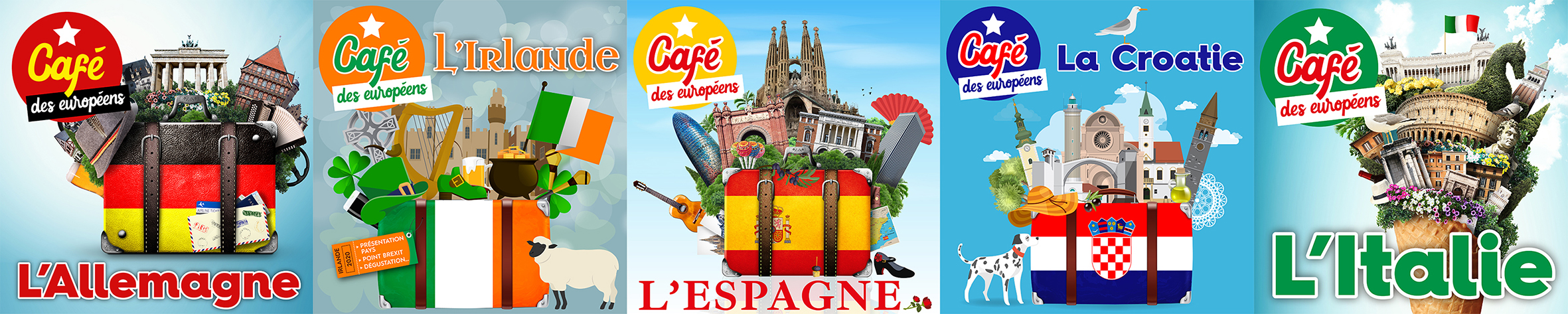 Frise Cafes Europeens