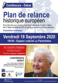 Plan de relance historique européen @ Espace culturel la parenthèse