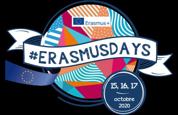 Erasmusdays Logo 2020 Fr Bleu