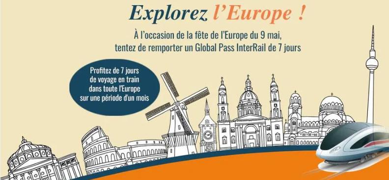 Screenshot 2021 04 29 Jeu Concours Ouest France Propose Cinq Pass Interrail à Gagner Pour La Fête De L'europe